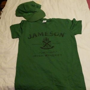 T shirt and hat